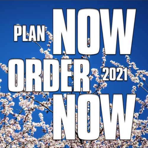 Plan Now 2021 - Order Now